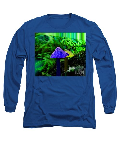 Trippy Shroom Long Sleeve T-Shirt