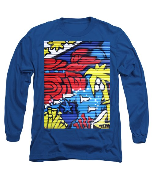 Tropical Graffiti Barcelona Long Sleeve T-Shirt