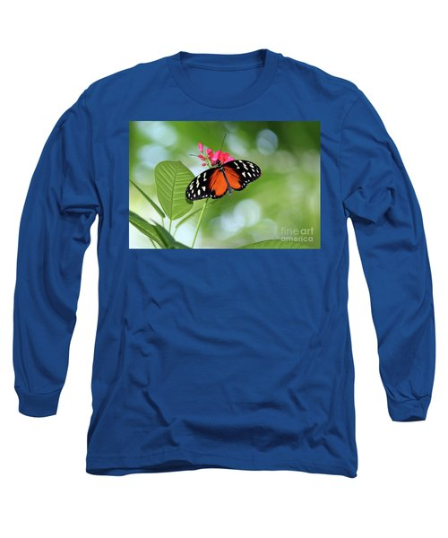 Tropical Hecale Butterfly Long Sleeve T-Shirt