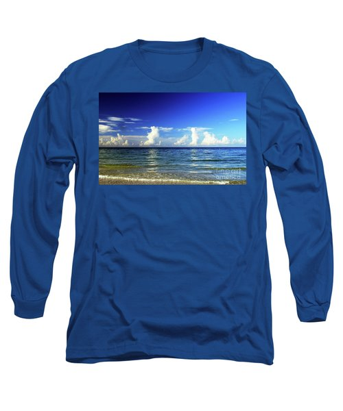 Long Sleeve T-Shirt featuring the photograph Tropical Storm Brewing by Gary Wonning