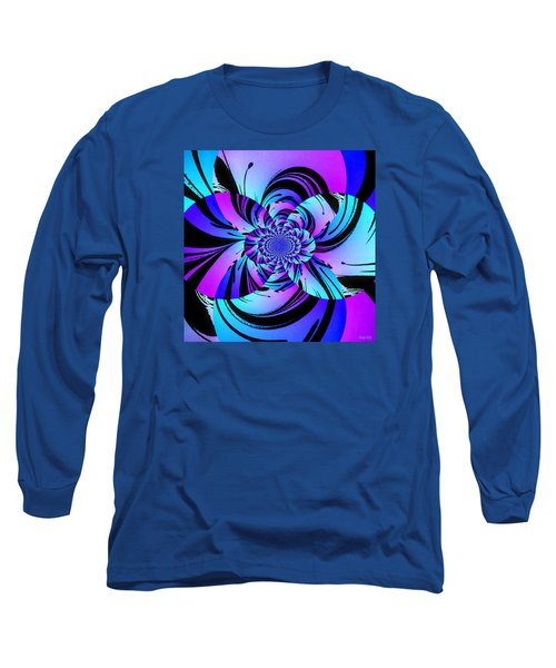 Long Sleeve T-Shirt featuring the digital art Tropical Transformation by Kathy Kelly