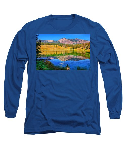 Long Sleeve T-Shirt featuring the photograph Trout Lake by Greg Norrell