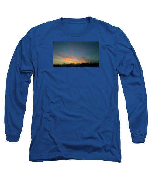 Long Sleeve T-Shirt featuring the photograph Tuesday Sunrise by Anne Kotan