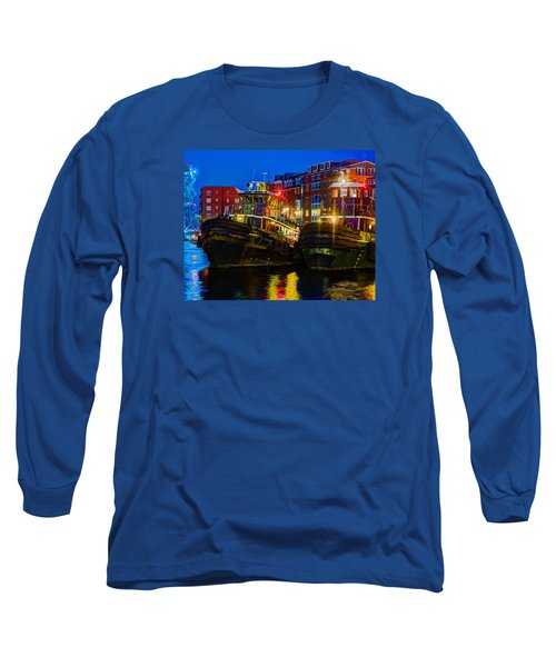 Tug Boat Alley 026 Long Sleeve T-Shirt