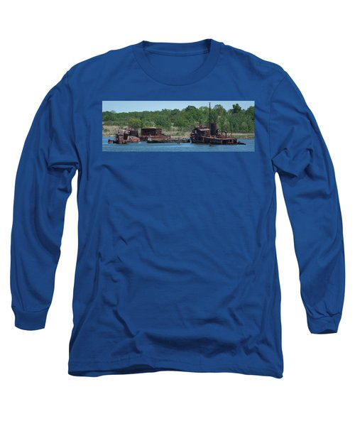 Tugboat Graveyard Long Sleeve T-Shirt