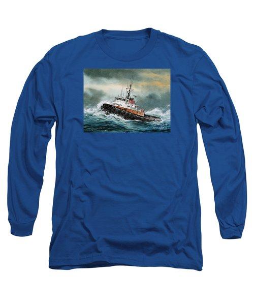 Tugboat Hunter Crowley Long Sleeve T-Shirt