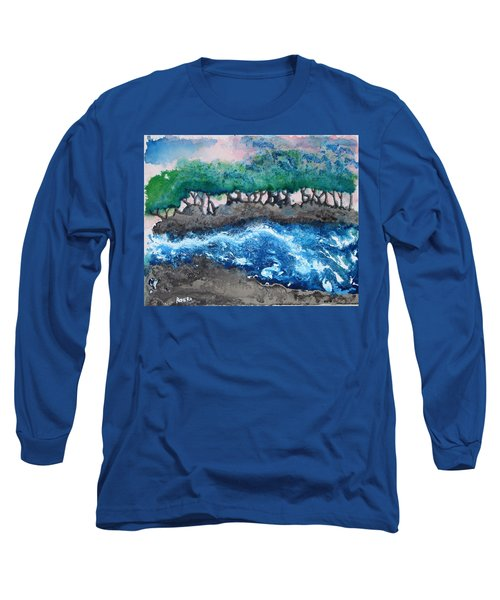 Turbulent Waters Long Sleeve T-Shirt