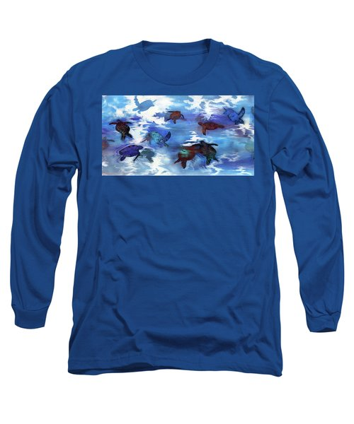 Turtles In Heaven Long Sleeve T-Shirt