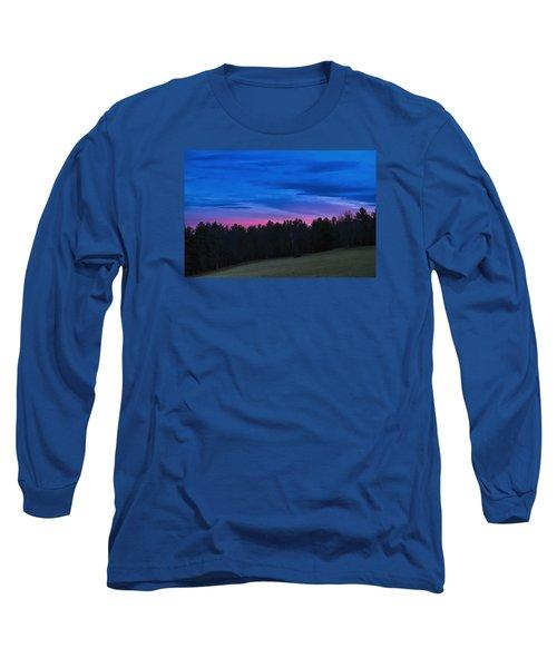 Twilight Field Long Sleeve T-Shirt by Tom Singleton