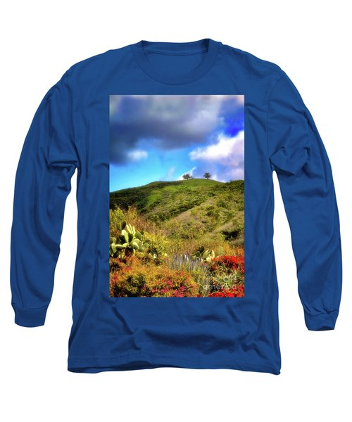 Two Trees In Spring Long Sleeve T-Shirt