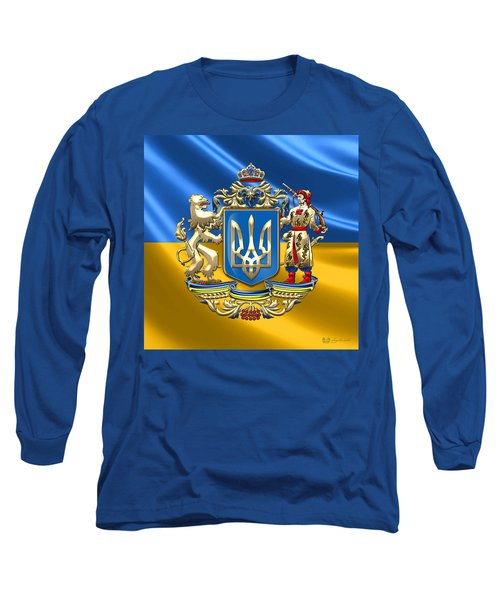 Ukraine - Greater Coat Of Arms  Long Sleeve T-Shirt