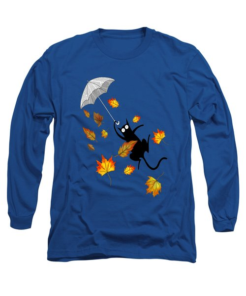 Umbrella Long Sleeve T-Shirt by Andrew Hitchen