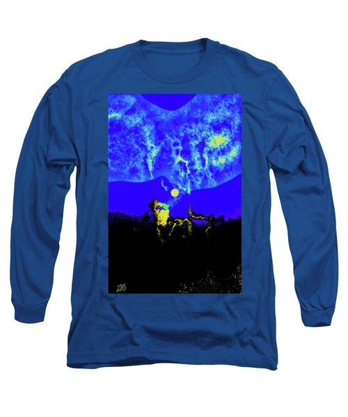 Under A Full Moon Long Sleeve T-Shirt