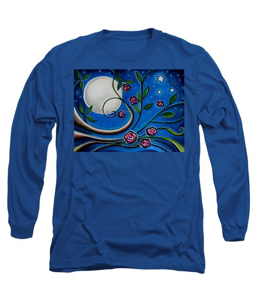 Under The Glowing Moon Long Sleeve T-Shirt