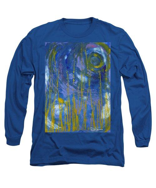 Under The Ocean Long Sleeve T-Shirt by Rachel Hames
