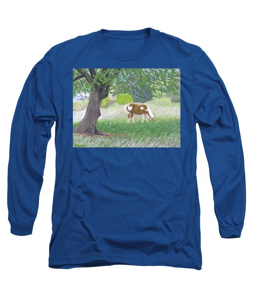 Under The Old Apple Tree Long Sleeve T-Shirt