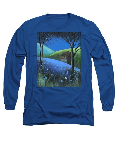 Long Sleeve T-Shirt featuring the painting Under The Stars by Terry Webb Harshman