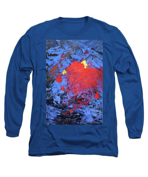 Untitled Abstract-7-817 Long Sleeve T-Shirt