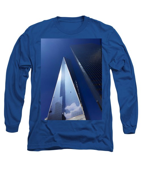 Up In New York Long Sleeve T-Shirt by Paul Wilford