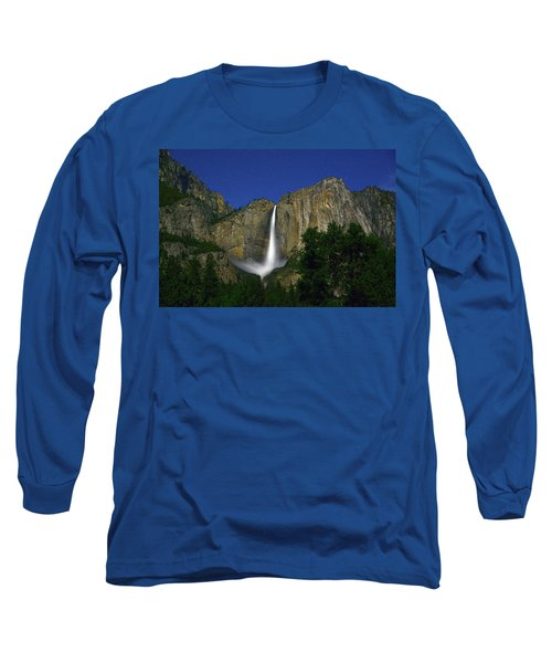 Upper Yosemite Falls Under The Stairs Long Sleeve T-Shirt
