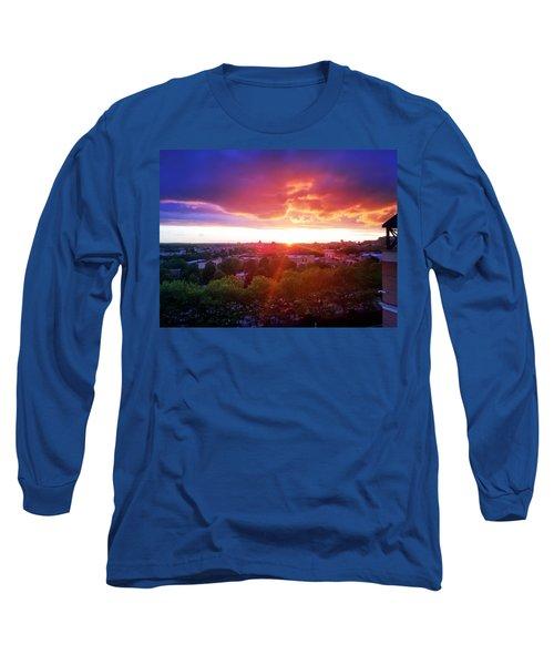 Urban Sunset Long Sleeve T-Shirt