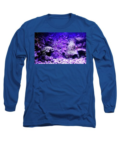 Long Sleeve T-Shirt featuring the photograph Uw Coral Stone 2 by Francesca Mackenney