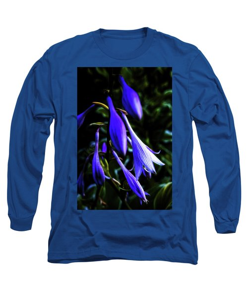 Varigated Hosta Bloom Long Sleeve T-Shirt