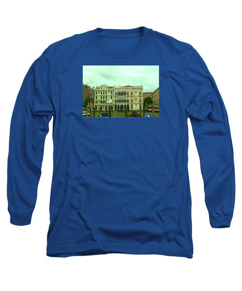 Long Sleeve T-Shirt featuring the photograph Venetian Aternoon by Anne Kotan