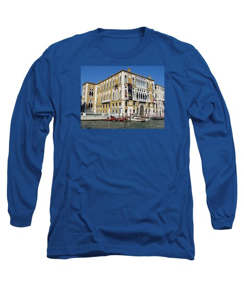 Venice Canal Building Long Sleeve T-Shirt