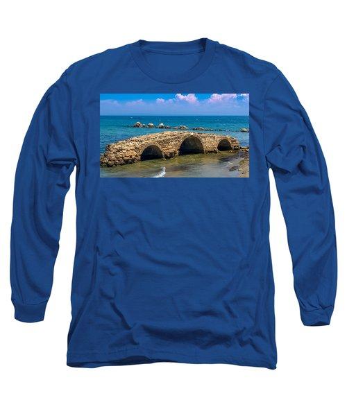 Venitian Bridge Argassi Long Sleeve T-Shirt by Rainer Kersten