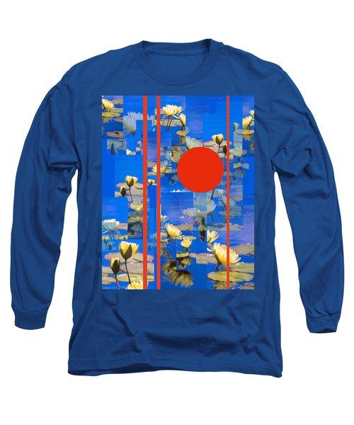 Long Sleeve T-Shirt featuring the photograph Vertical Horizon by Steve Karol
