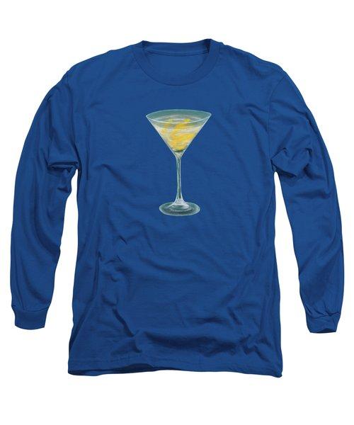 Vesper Martini Long Sleeve T-Shirt by Anastasiya Malakhova