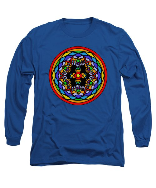Vibrant Pattern Orb By Kaye Menner Long Sleeve T-Shirt