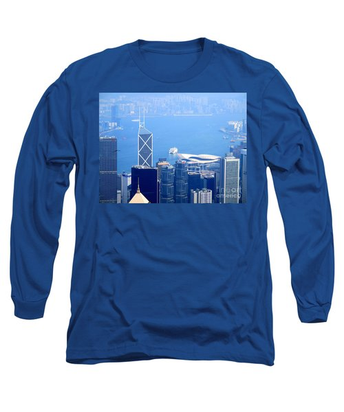Long Sleeve T-Shirt featuring the photograph Victoria Peak 2 by Randall Weidner