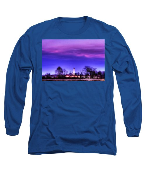 View Of San Giorgio Lomellina Long Sleeve T-Shirt