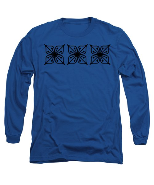 Floral Trio  Long Sleeve T-Shirt