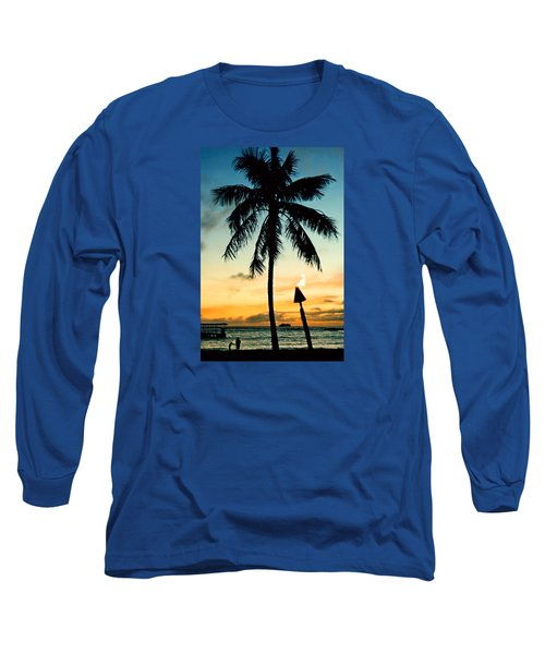 Waikiki Sunset Long Sleeve T-Shirt