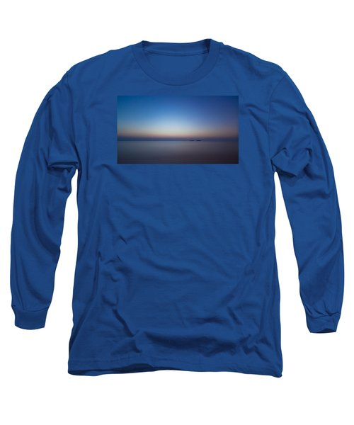 Waiting For A New Day Long Sleeve T-Shirt by Andreas Levi