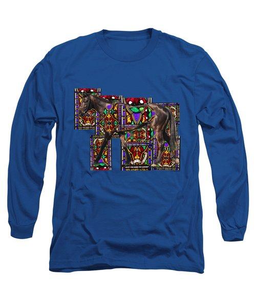 Walking Horse Long Sleeve T-Shirt