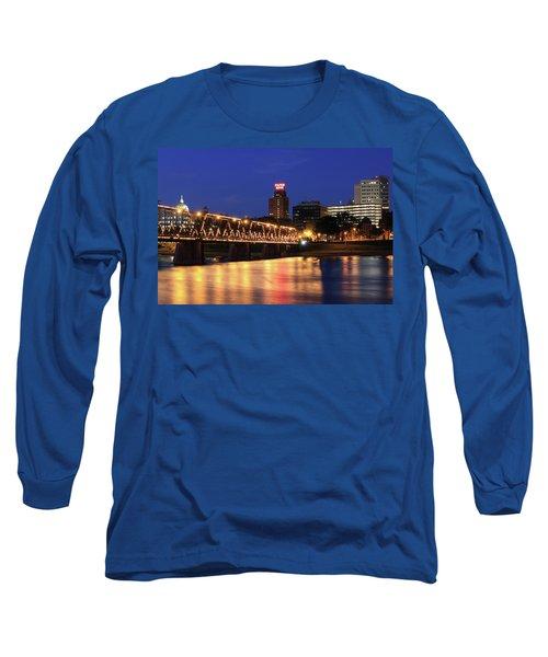 Walnut Street Bridge Long Sleeve T-Shirt