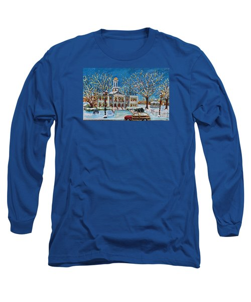 Waltham Common Shimmering Long Sleeve T-Shirt