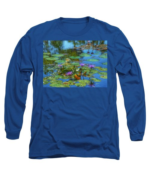 Water Lilies I Long Sleeve T-Shirt