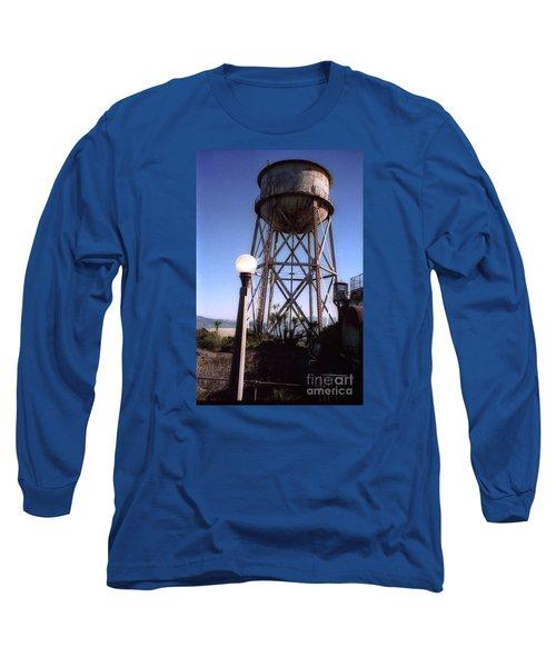 Water Tank Tower Alcartraz Long Sleeve T-Shirt