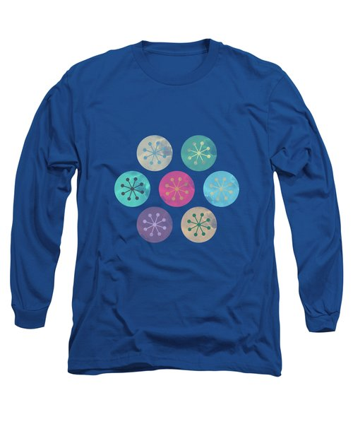 Watercolor Lovely Pattern Long Sleeve T-Shirt by Amir Faysal