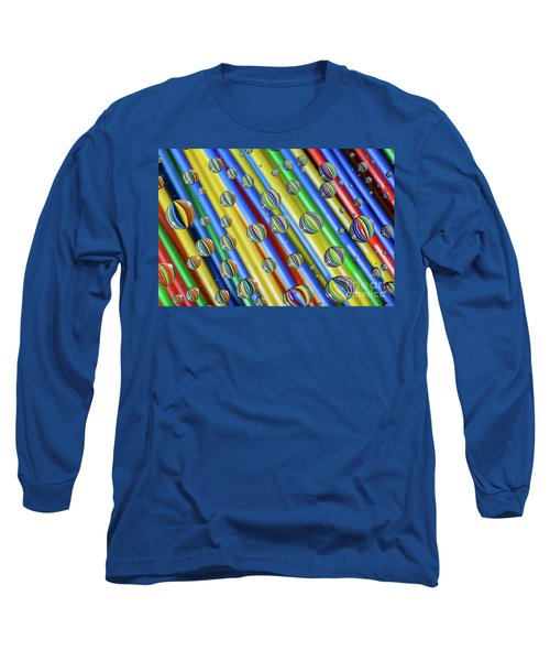waterDroplets02 Long Sleeve T-Shirt