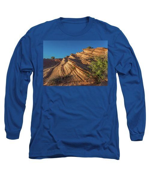 Waterhole Canyon Rock Formation Long Sleeve T-Shirt