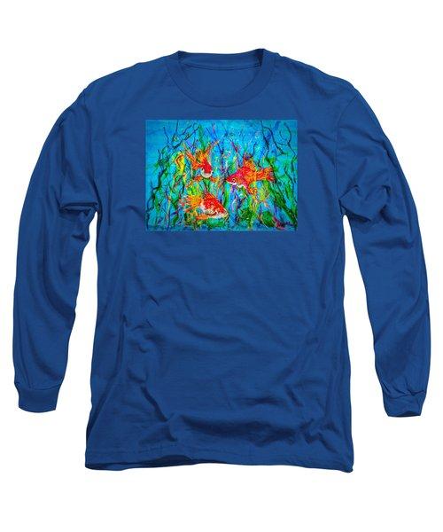 Watery Wonderland Long Sleeve T-Shirt