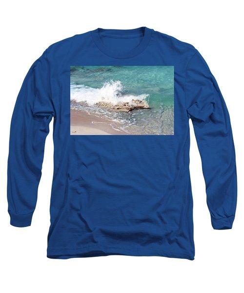 Gentle Wave In Bimini Long Sleeve T-Shirt