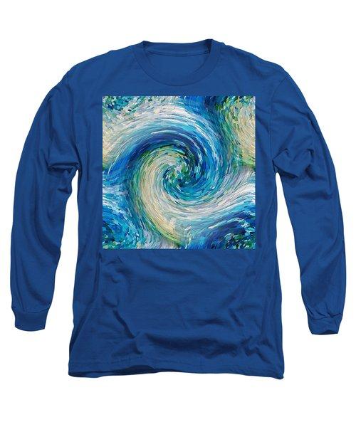 Wave To Van Gogh II Long Sleeve T-Shirt