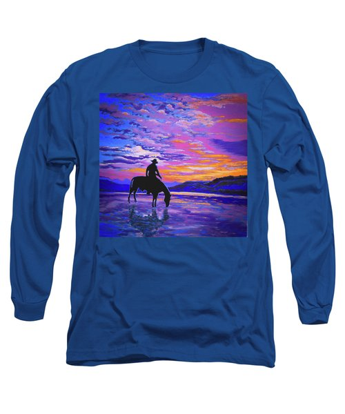 We And Still Waters Long Sleeve T-Shirt